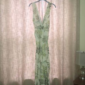 Beautiful botanical dress.